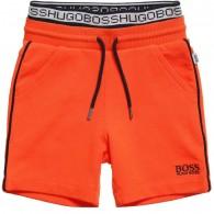 BOSS Baby Boys Orange Jersey Shorts
