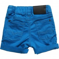BOSS Baby Boys Turquoise Cotton Shorts