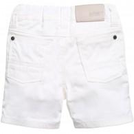BOSS Baby Boys White Cotton Shorts