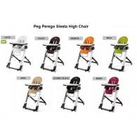 Peg Perego Siesta High Chair 7 COLORS