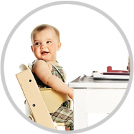 Stokke Tripp Trapp High Chair Complete Bundle in Black