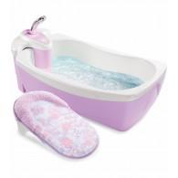 Summer Infant Lil' Luxuries® Whirlpool, Bubbling Spa & Shower (Violet)