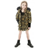 YOUNG VERSACE Girls Baroque Outfit