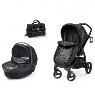 YOUNG VERSACE Baby Stroller, Bassinet & Changing Bag
