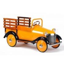 Airflow Collectibles Burnt Orange Pedal Truck