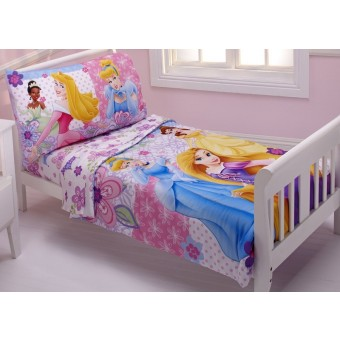 Disney 4 Piece Toddler Set, Princesses Wishes and Dreams
