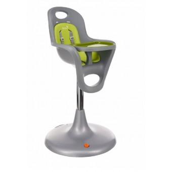 Boon Flair Pedestal Highchair in Grey/Green