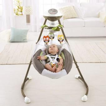 Fisher Price My Little Snugabear Cradle 'n Swing