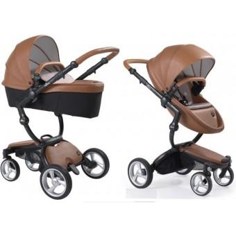 Mima Xari Stroller + Starter Pack-Camel-Starter Pack Ash Brown