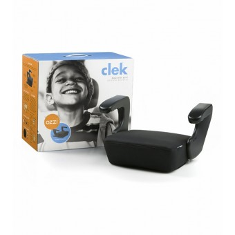 Clek Ozzi LATCHing Booster in Licorice