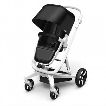 Black Milkbe Lullaby Self-Stopping Stroller
