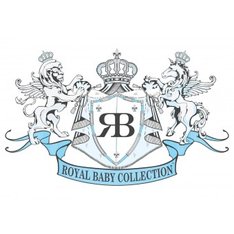 Royal Baby Collection Boys Blue Babygrow, Footie