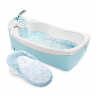 Summer Infant Lil' Luxuries® Whirlpool, Bubbling Spa & Shower (Blue)