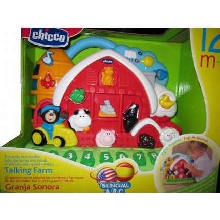 Chicco Bilingual Talking Farm