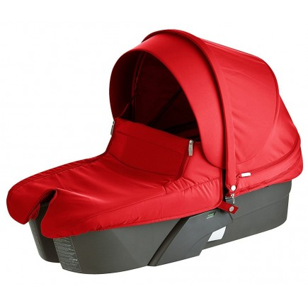Stokke XPLORY Carry Cot Complete Kit in Red