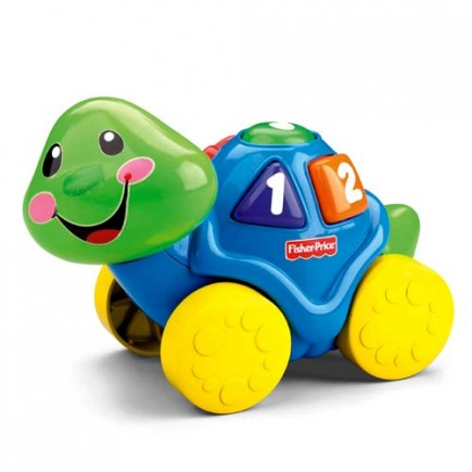 Fisher Price Laugh & Learn Roll-Along Turtle