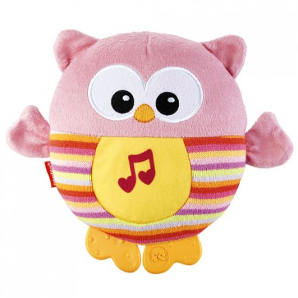 Fisher Price Soothe & Glow Owl Pink