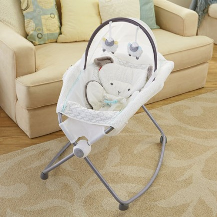 Fisher Price My Little Lamb™ Deluxe Newborn Rock 'n Play™ Sleeper with Canopy
