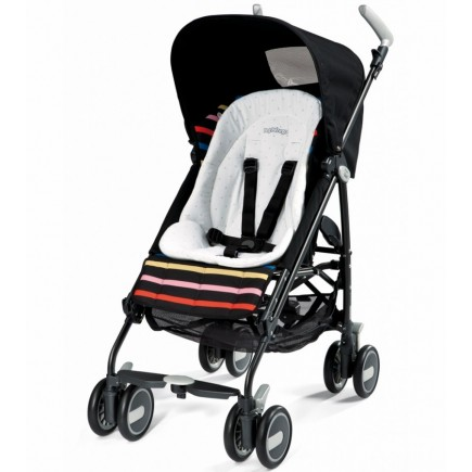 Peg Perego Comfort Cushion for Strollers & High Chairs in White