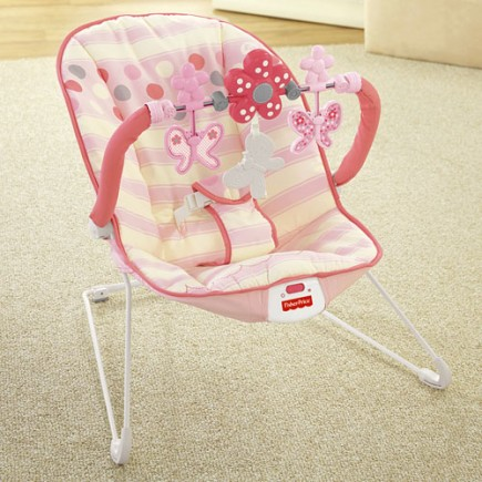 Fisher Price Baby's Bouncer - Pink Butterfly