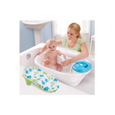 Summer Infant Newborn-To-Toddler Bath Center & Shower (Neutral)
