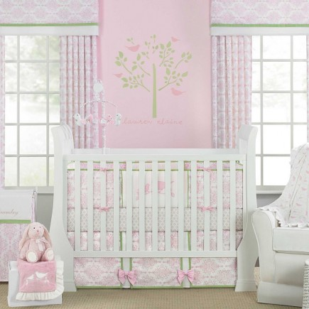 Wendy Bellissimo Gracie 3 Piece Baby Crib Bedding Set