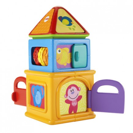Fisher Price Growing Baby Stacking Activity Home