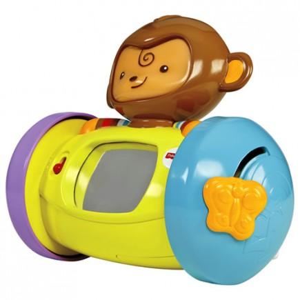 Fisher Price My Little SnugaMonkey 1-2-3 Crawl-Along Monkey