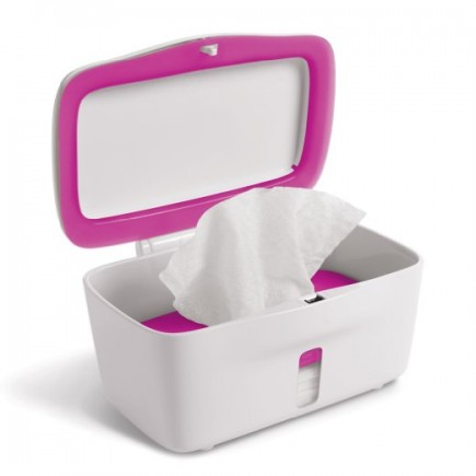 OXO Tot Perfect Pull Flushable Wipes Dispenser in Pink