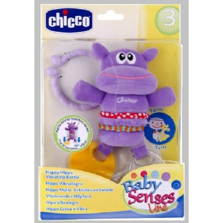 Chicco Vibrating Hippo Rattle