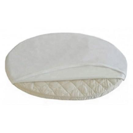 Stokke Sleepi Oval Mini Protection Sheet White