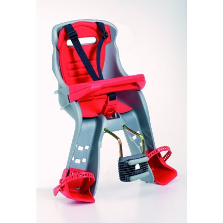 Peg Perego Orion front mount child seat in Grey and Red