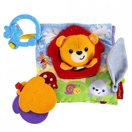 Fisher Price Peek-a-Boo Puppet Book