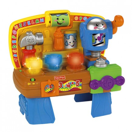 Fisher Price Laugh & Learn Learning Workbench
