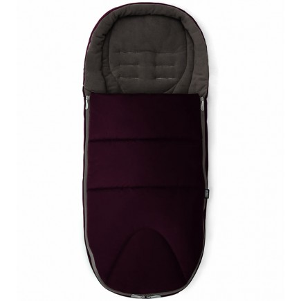 Mamas & Papas Cold Weather Plus Footmuff in Mulberry