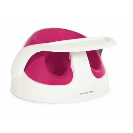 Mamas & Papas Baby Snug Infant Positioner in Raspberry