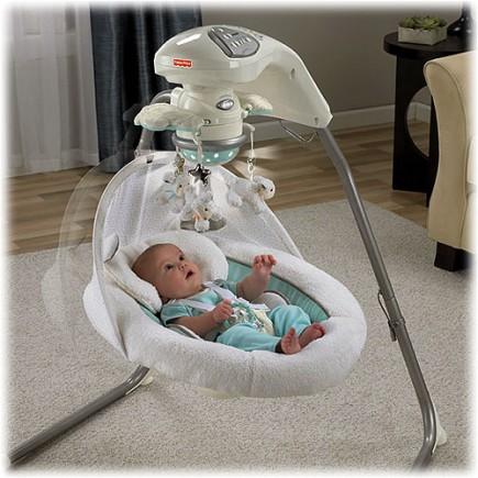Fisher Price My Little Lamb™ Platinum Edition Cradle 'n Swing