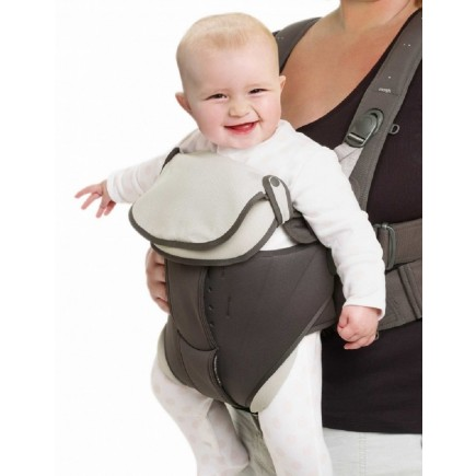 Mamas & Papas Baby Carrier Bibs 2 Pack in Dove Grey