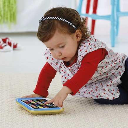 Fisher Price Laugh & Learn Smart Stages Tablet in Gold