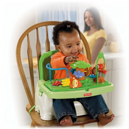 Fisher Price Rainforest™ Healthy Care™ Booster Seat