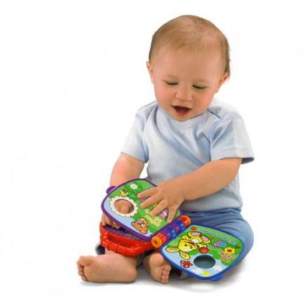 Fisher Price Laugh & Learn Teddy's Shapes & Colors Book