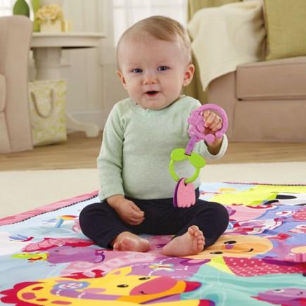 Fisher Price Jumbo Playmat Pink
