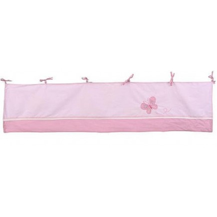 Crown Crafts Babies R Us Olivia Window Valance - Pink