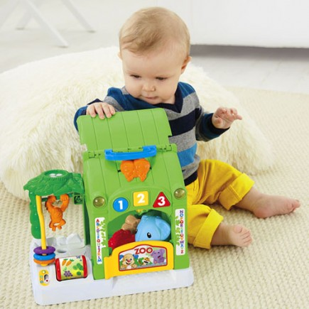 Fisher Price Laugh & Learn® Smart Stages Activity Zoo
