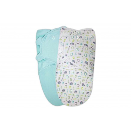 Summer Infant SwaddleMe® Original Organic Swaddle 2-PK (LG)