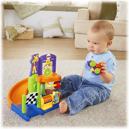 Fisher Price Silly Speedsters Friendly Raceway