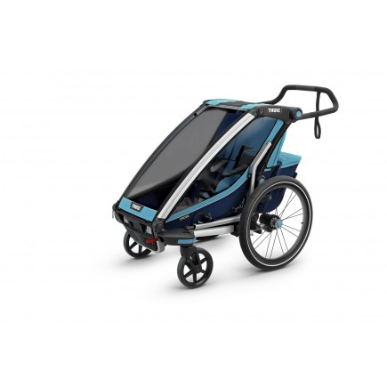Thule Chariot Cross 1 + Cycle/Stroll - Thule Blue