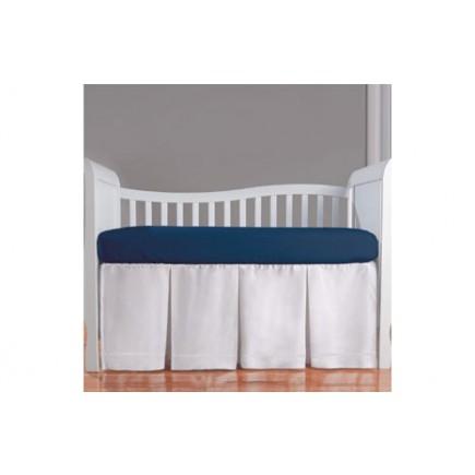 Summer Infant Height Adjustable Crib Skirt (Pleated)