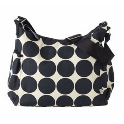 OiOi Ebony Desert Hobo Diaper Bag