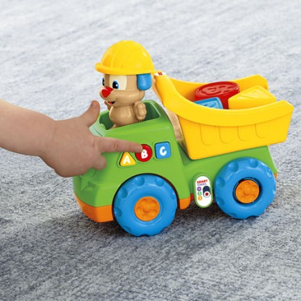 Fisher Price Laugh & Learn Puppy's Dump Truck